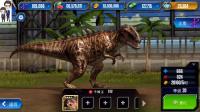 侏罗纪世界游戏第346期:中棘龙和双形齿兽★恐龙公园
