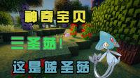 最后一個大師球,既然抓了藍色蘑菇!神奇寶貝#9☆mc★minecraft