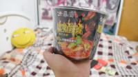 尝试国产的火鸡面 据说辣椒都是魔鬼辣椒 61