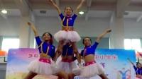 2017广州南沙区中小学生健美操啦啦操比赛1