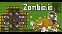【逍遥小枫】攻打地方部落,丧心病狂的尸潮来临!  Zombie.io#2