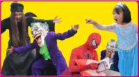 搞怪小丑与蜘蛛侠的大战 212