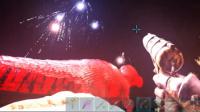【峻晨解说】夜幕降临!本世纪最大焰火晚会-方舟生存进化夏果岛11