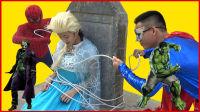 艾莎公主遭遇小丑坏蛋绑架 215