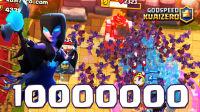 ★皇室战争★百万暗夜女巫与亿万蝙蝠 #G741★Clash Royale★酷爱