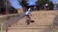 牛人騎著單車爬樓梯, 厲害我的哥!
