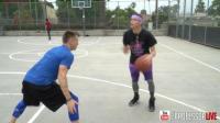 篮球课 教授亲传如何控球中做投篮虚晃  篮球教学视频