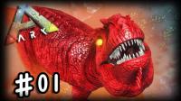 【矿蛙】方舟生存进化 起源#01 苏菲抖M被虐之旅再次开启