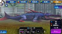 侏罗纪世界游戏第390期: 地蜥鳄和达克龙★恐龙公园