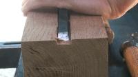 一块木头理工男打磨几小时, 成品果然很精致