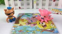 海底小纵队的海绵宝宝拼图玩具