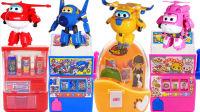 小猪佩奇熊出没熊大超级飞侠糖果机饮料机奇趣蛋惊喜玩具过家家