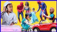婴儿医生与艾莎公主的车祸事故 正义蜘蛛侠大战小丑邪恶势力 291