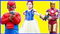 捣蛋小蜘蛛侠与钢铁侠射击游戏 319
