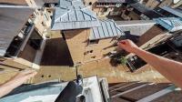 跟随大神Connor在英国剑桥屋顶跑酷 GoPro视角