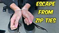 【熊叔实验室】教你如何用鞋带逃脱束线带的捆绑 @柚子木字幕组