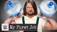 AJ在成为传奇大师之前 是个辛苦打工给WCW送水的励志Boy