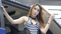 170713 2017 首尔汽车沙龙 韩国美女车模 최예록(崔艺绿)