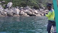 在越南租船出海海钓 海钓 今天的收获不错 喜欢海钓的来建议看看