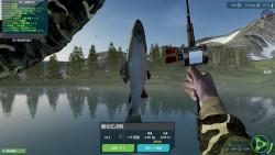 终极钓鱼模拟器:这个野湖鱼太多了,都是红点鲑赶快路亚了一波!