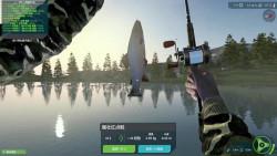 终极钓鱼模拟器:第一杆就破纪录,这个重量直接吊打外洋玩家的脸