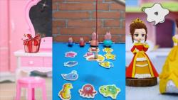 儿童玩具:猪爸爸是个钓鱼妙手呢