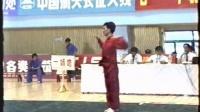 1993年第七届全运会武术套路比赛 男子长拳 019 毕书军(河南)