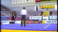 2001年第九届全运会武术散打比赛 第01单元 008 男子52kg 李必金(安徽)VS 张春雨(北京)