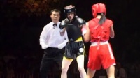 2004年第二届世界杯武术散打比赛 002 女子52kg 红(越南)VS 黑(罗马尼亚)