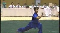 1993年第七届全运会武术套路比赛 女子长拳 008 李天媛(山西)