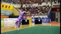 2001年第九届全运会武术套路比赛 女子规定长拳 013 运动员