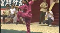 1993年第七届全运会武术套路比赛 女子长拳 007 于淼(辽宁)