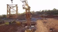 海桂幼儿园建设工程进度航拍 海南航拍 梧桐摄影 琼海航拍2