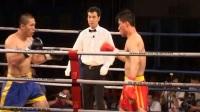 2004年中国功夫VS日本极真派职业空手道争霸赛 男子80kg 柳海龙(中国)VS 水谷泉(日本)