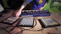 Novation  Live beats with UltraNova and Launchpad - Part 2