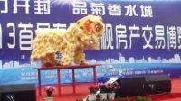 河南何氏龙狮团(开封2013电视房产交易博览会)舞龙舞狮商演