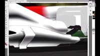 如何用Photoshop渲染F1赛车教程3
