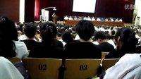 铁岭县莲花中学13届毕业典礼,学生代表。