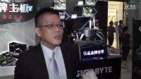 cnFrag.com - StarsWar8现场专访技嘉科技主板事业群副总经理蓝绍文