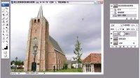 Photoshop教程22 修正透视错误的教堂_PS人物数码照片处理技法视频教程