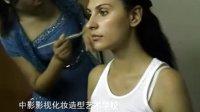 北京中影影视化妆学校学生为MAXMAra广告化妆
