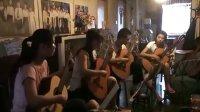 2010年7月12-23日三首古典吉他四重奏排练纪实 山西 太原 吉他
