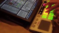 Vestax PAD-One cue-points playin' 4 songs at once