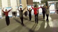 庆城女职工业余健身舞22