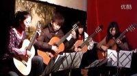 肖斯塔科维奇《华尔兹第二号》山西太原郭利民吉他工作室     古典吉他四重奏