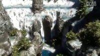 Lumion3D瀑布流水特效预览