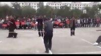 项城中专2011年秋就业班学生拔河比赛