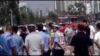 阳泉交警扣三轮 暴力执法?