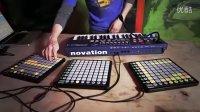 Novation - 现场示范 UltraNova  Launchpad