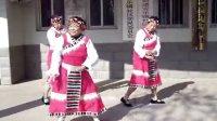 济南天桥安乐镇舞蹈队唐古拉